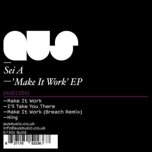 Sei A MAKE IT WORK (EP) Vinyl Record