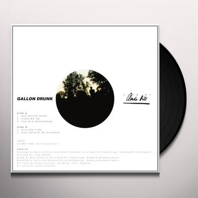 Gallon Drunk LIVE AT CLOUDS HILL Vinyl Record