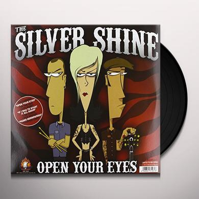 Silver Shine / Rocketz OPEN YOUR EYES Vinyl Record