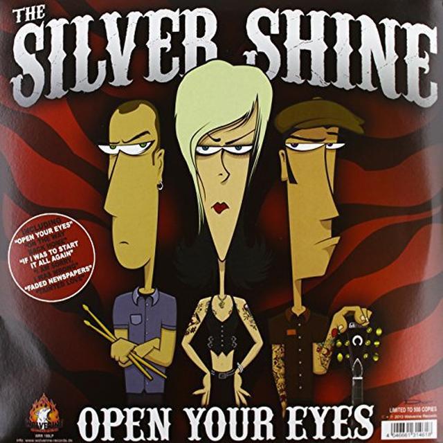 Silver Shine / Rocketz OPEN YOUR EYES Vinyl Record
