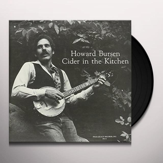 Howard Bursen CIDER IN THE KITCHEN Vinyl Record