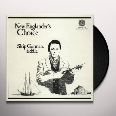 Skip Gorman NEW ENGLANDER'S CHOICE Vinyl Record