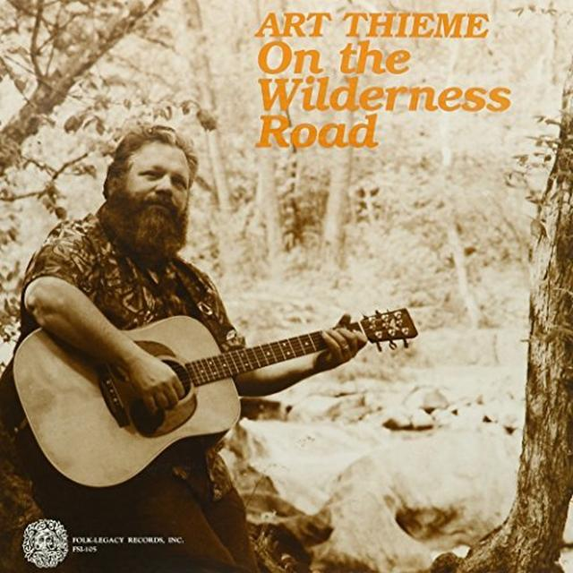 Art Thieme ON THE WILDERNESS ROAD Vinyl Record