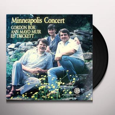 Gordon Bok MINNEAPOLIS CONCERT Vinyl Record