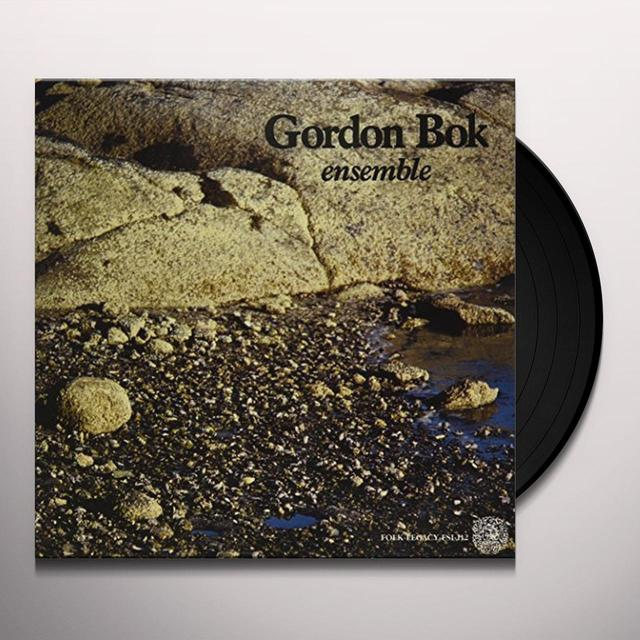 Gordon Bok ENSEMBLE Vinyl Record