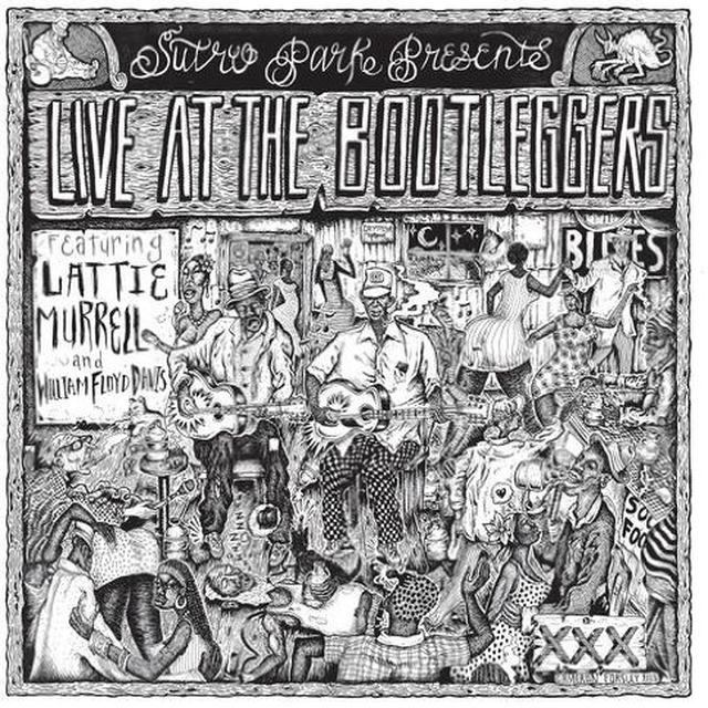 LIVE AT THE BOOTLEGGERS / VARIOUS Vinyl Record