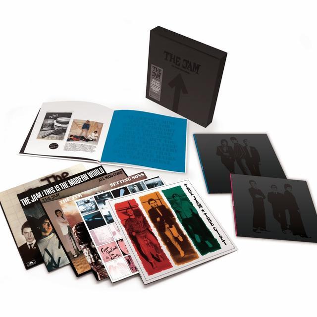 The Jam STUDIO RECORDINGS Vinyl Record