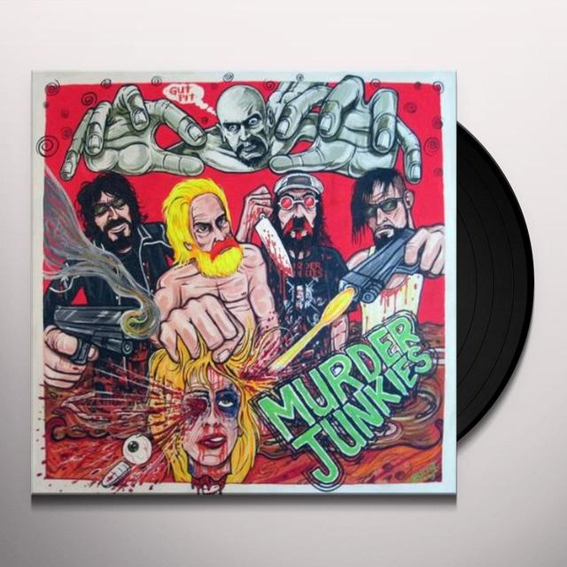 Murder Junkies GUT PIT Vinyl Record