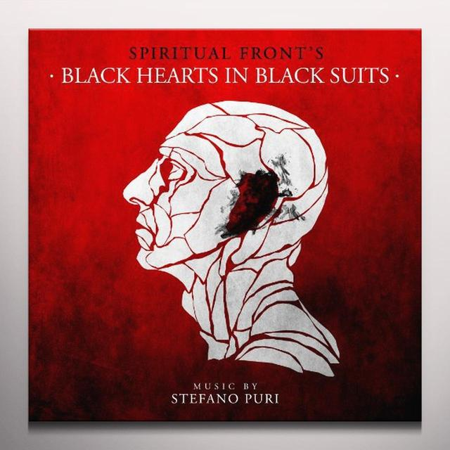 Spiritual Front BLACK HEARTS IN BLACK SUITS Vinyl Record - Limited Edition, Colored Vinyl