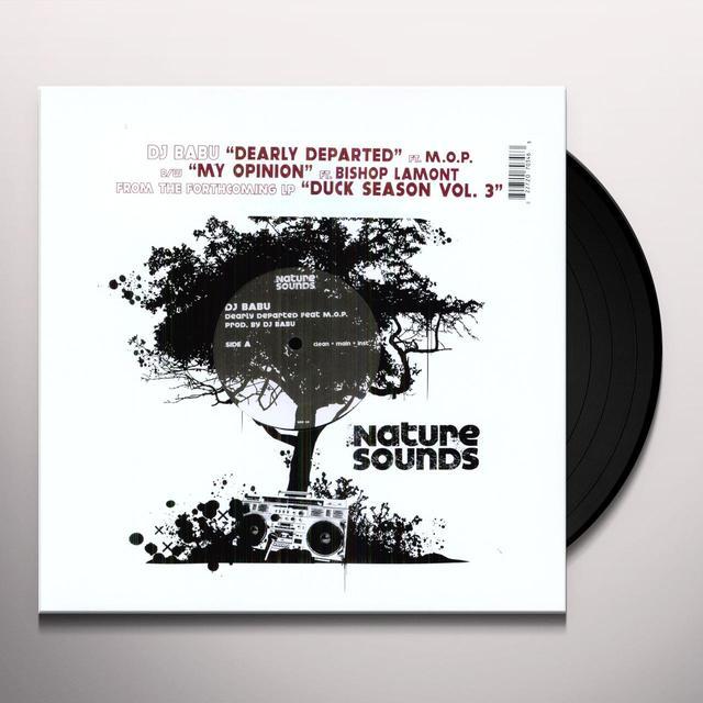 Dj Babu DEARLY DEPARTED (Vinyl)