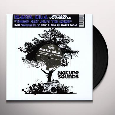 Masta Killa THINGS JUST AIN'T THE SAME / NOODLES 2 Vinyl Record