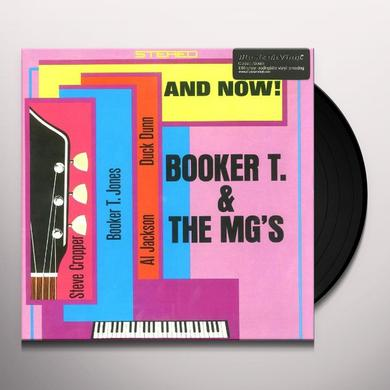 Booker T. & the M.G.'s AND NOW Vinyl Record - 180 Gram Pressing