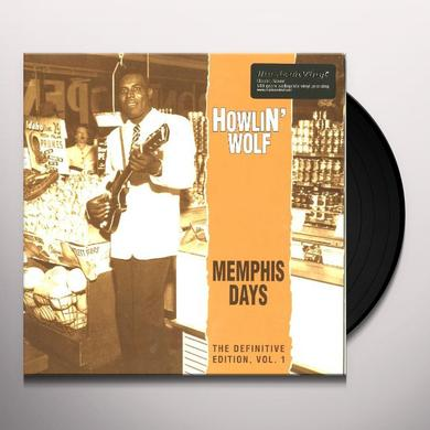 Howlin Wolf MEMPHIS DAYS: DEFINITIVE EDITION 1 Vinyl Record - 180 Gram Pressing