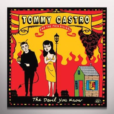 Tommy Castro DEVIL YOU KNOW Vinyl Record - Colored Vinyl, 180 Gram Pressing
