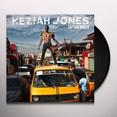 Keziah Jones CAPTAIN RUGGED Vinyl Record - w/CD