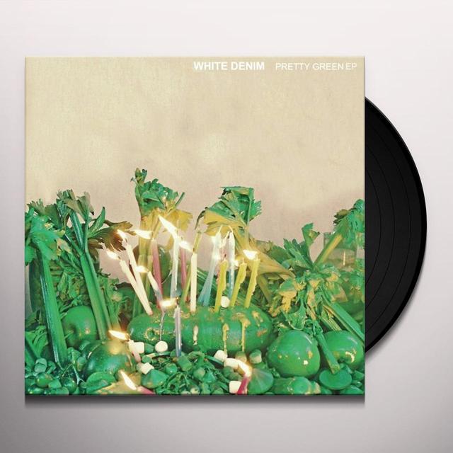 White Denim PRETTY GREEN (EP) Vinyl Record