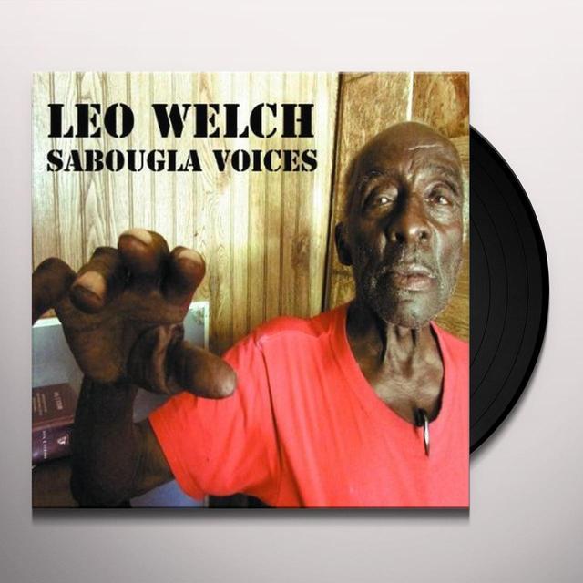 Leo Welch SABOUGLA VOICES Vinyl Record