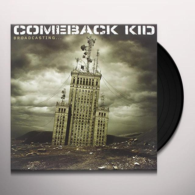 Comeback Kid BROADCASTING Vinyl Record