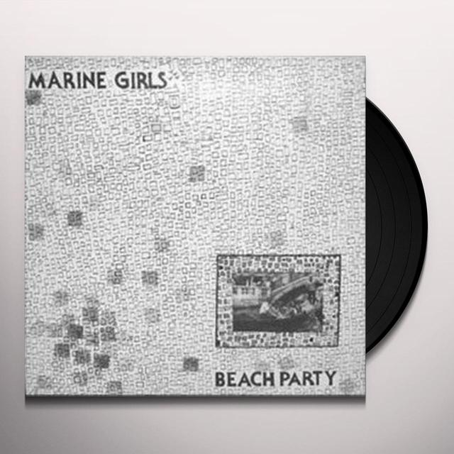 Marine Girls BEACH PARTY Vinyl Record