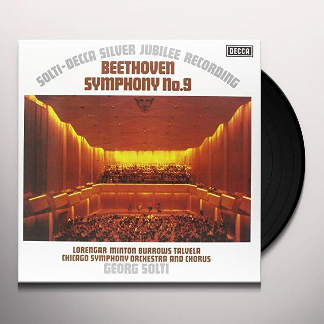 Beethoven / Solti SYMPHONY 9 Vinyl Record