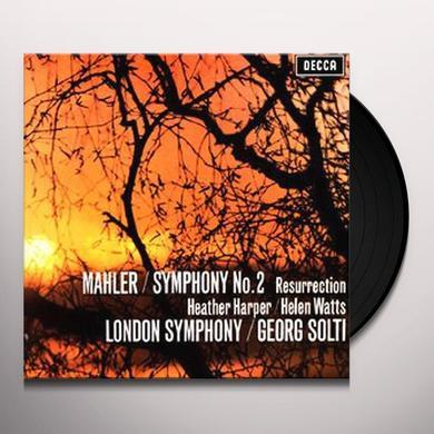 Mahler / Solti SYMPHONY 2 Vinyl Record