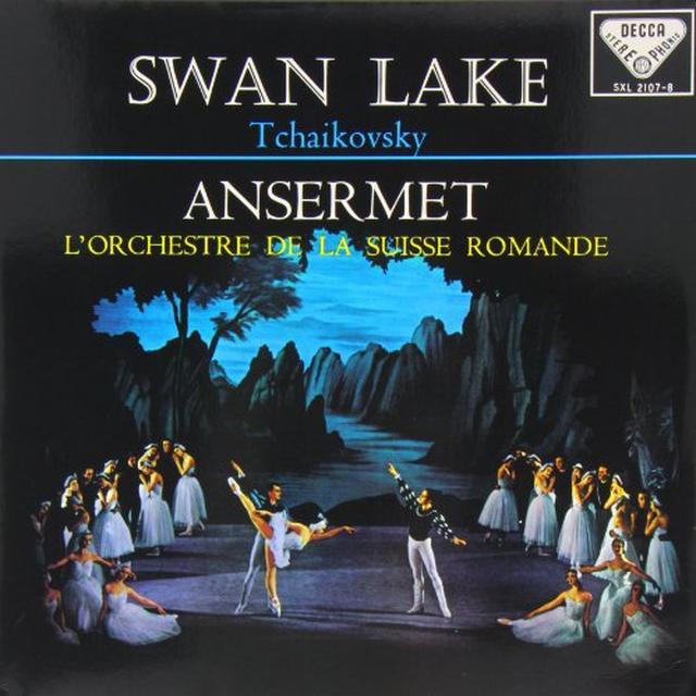 Tchaikovsky / Ansermet SWAN LAKE Vinyl Record - 180 Gram Pressing