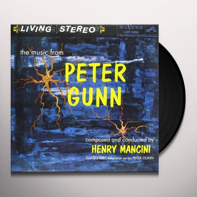 Henry (Ogv) Mancini MUSIC FROM PETER GUNN (O.S.T.) Vinyl Record - 180 Gram Pressing