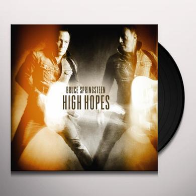 Bruce Springsteen HIGH HOPES  (DLI) Vinyl Record - 180 Gram Pressing