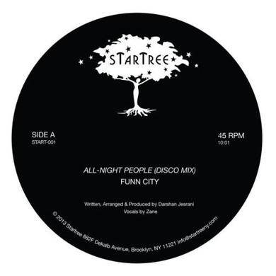 Funn City ALL-NIGHT PEOPLE Vinyl Record