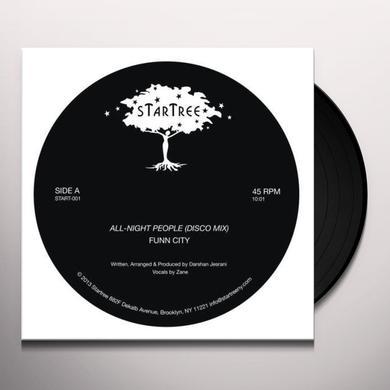 Funn City ALL-NIGHT PEOPLE Vinyl Record