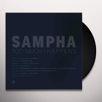 Sampha TOO MUCH / HAPPENS Vinyl Record