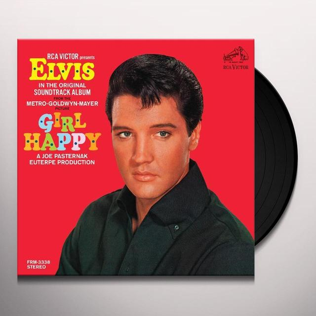 Elvis Presley GIRL HAPPY Vinyl Record