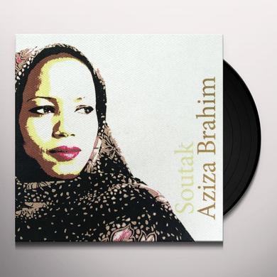 Aziza Brahim SOUTAK Vinyl Record - w/CD