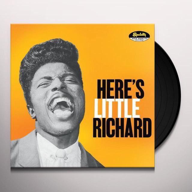 HERE'S LITTLE RICHARD Vinyl Record