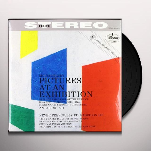 Moussorgsky / Dorati PICTURES AT AN EXHIBITION Vinyl Record
