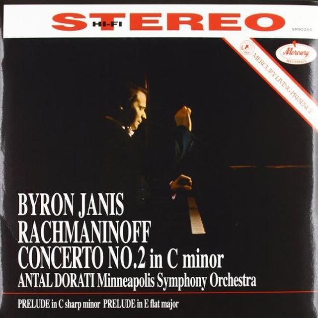 Rachmaninov / Dorati PIANO CONCERTO 2 Vinyl Record - 180 Gram Pressing