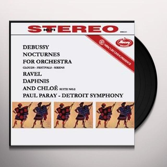 Debussy / Ravel / Paray NOCTURNES / DAPHNIS ET CHLOE SUITE 2 Vinyl Record