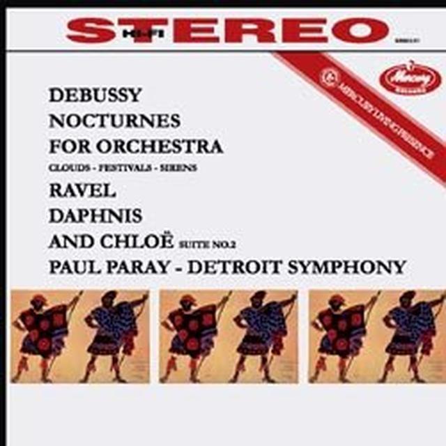 Debussy / Ravel / Paray NOCTURNES / DAPHNIS ET CHLOE SUITE 2 Vinyl Record - 180 Gram Pressing