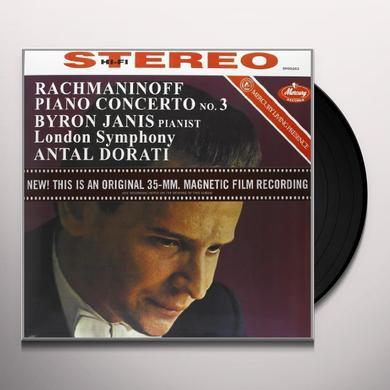 Rachmaninov / Dorati PIANO CONCERTO 3 Vinyl Record - 180 Gram Pressing