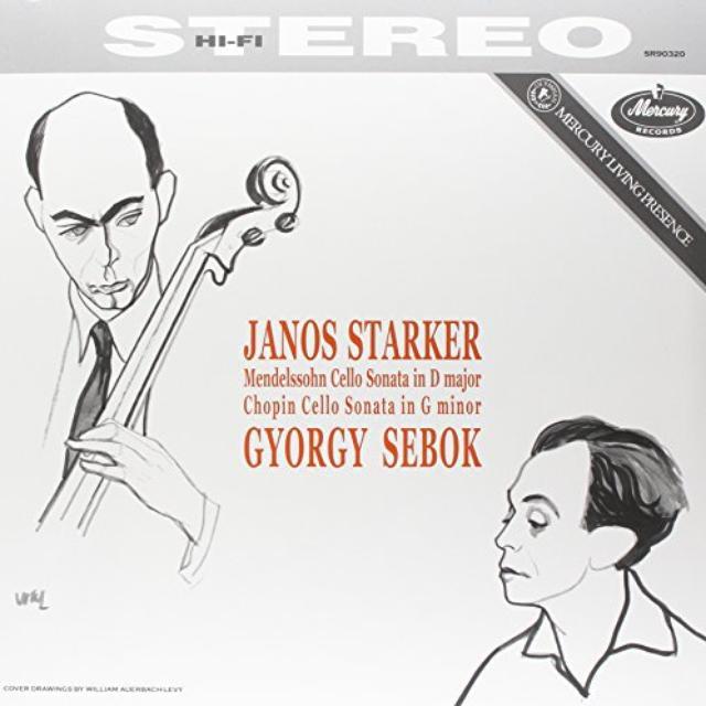 Mendelssohn / Chopin / Starker / Sebok