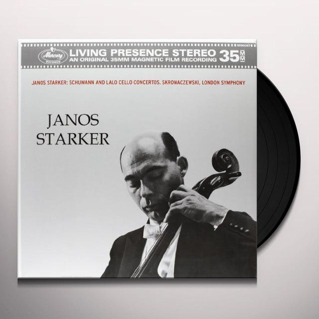 Schumann / Lalo / Skrowaczewski / Starker CELLO CONCERTI Vinyl Record - 180 Gram Pressing