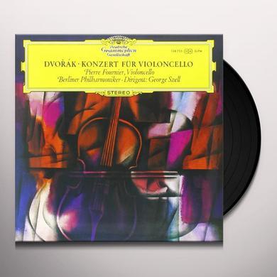 Dvorak / Szell CONCERTO FOR VIOLONCELLO & ORCHESTRA Vinyl Record