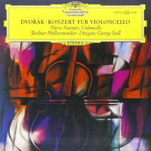 Dvorak / Szell CONCERTO FOR VIOLONCELLO & ORCHESTRA Vinyl Record - 180 Gram Pressing