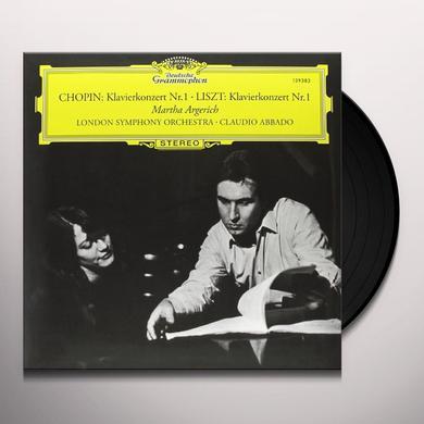 Chopin / Liszt / Abbado CTOS FOR PIANO & ORCHESTRA Vinyl Record