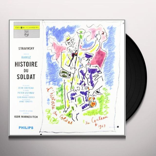 Stravinsky / Markevitch HISTOIRE DU SOLDAT Vinyl Record
