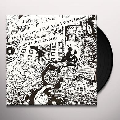 Jeffrey Lewis LAST TIME I DID ACID I WENT INSANE Vinyl Record