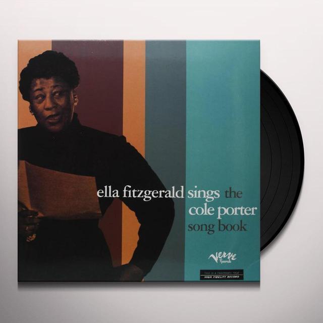 ELLA FITZGERALD SINGS THE COLE PORTER SONGBOOK Vinyl Record