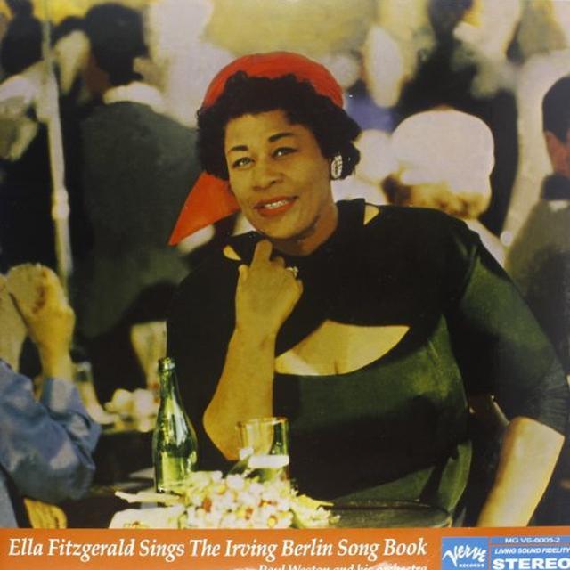 ELLA FITZGERALD SINGS THE IRVING BERLIN SONGBOOK Vinyl Record