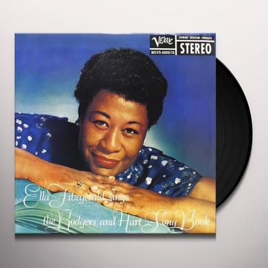 ELLA FITZGERALD SINGS THE ROGERS & HART SONG BOOK Vinyl Record