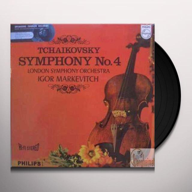 Tchaikovsky / Markevitch SYMPHONY 4 Vinyl Record